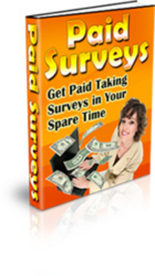 Product picture Paid Surveys - Get Paid Taking Surveys in Your Spare Time
