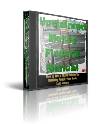 Product picture Unclaimed Money Finders Manual - Money Making Manual